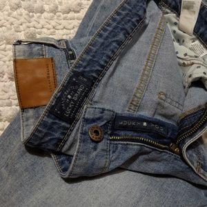 Lucky Brand Jeans - Lucky Brand Sweet Crop lightwash jeans